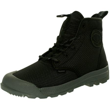 08f1049f027 Palladium Men's Pampatech Hi Tx Black/Castle Rock Ankle-High Boot - 12M
