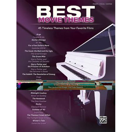 Best Movie Themes: 45 Timeless Themes from Your Favorite Films - Piano/Vocal/Guitar - Halloween Movie Theme Song Ringtone