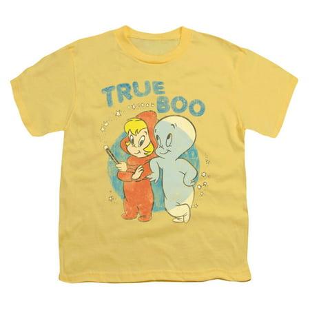 Casper Men's  True Boo T-shirt Yellow](Casero Halloween)