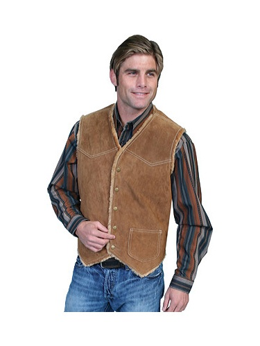Men's Scully Boar Suede Hunting Vest 82