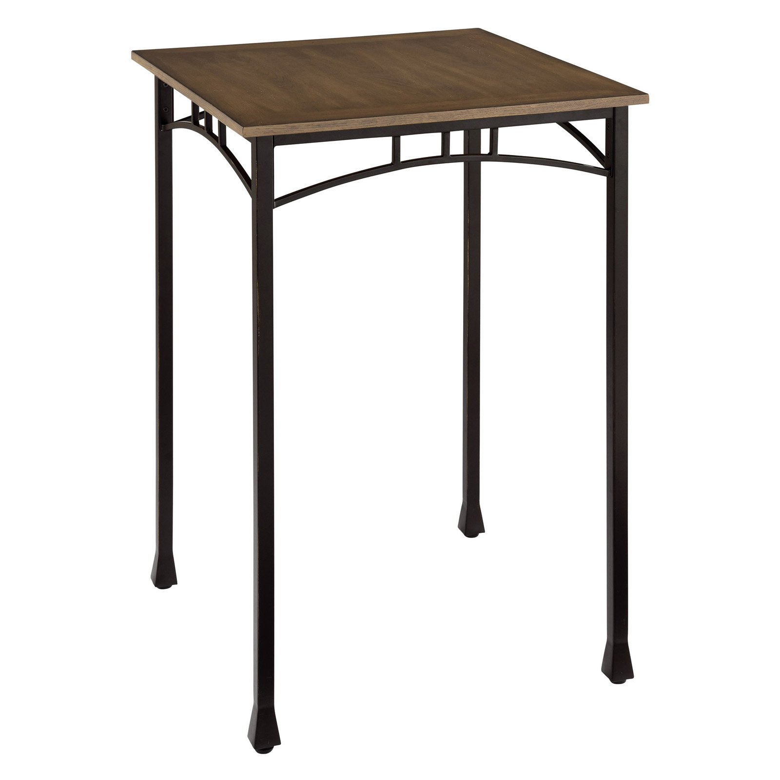 Home Styles Modern Craftsman Bistro Table, Brown