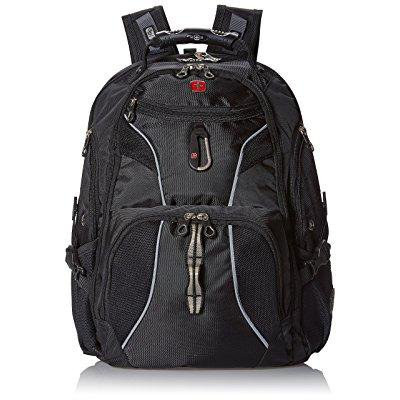 swissgear sa1923 black tsa friendly scansmart computer backpack - fits most 15 inch laptops and tablets