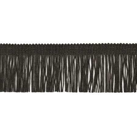 80 Black Value Pack - 11 Yard Value Pack of 2 Inch Chainette Fringe Trim, Style# CF02 Color: Black - K9 (32.5 Feet / 10M)