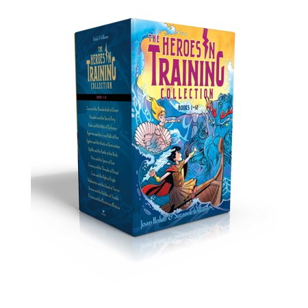 Heroes in Training Olympian Collection Books 1-12 : Zeus and the Thunderbolt of Doom; Poseidon and the Sea of Fury; Hades and the Helm of Darkness; Hyperion and the Great Balls of Fire; Typhon and the Winds of Destruction; Apollo and the Battle of the Birds; Ares and the Spear of Fear; etc. Collection Key Wind Movement