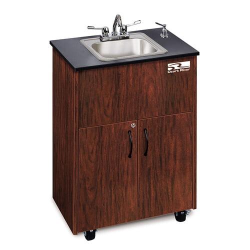 Ozark River Portable Sinks Ozark River Premier 1 25.75'' x 17.75'' Portable Handwash Station with Faucet