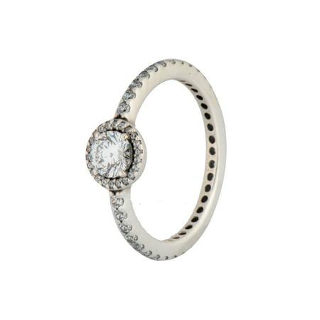 c7a09ab9b PANDORA - Authentic Ring Classic Elegance 190946CZ58 - SIZE 8 LARGE -  Walmart.com