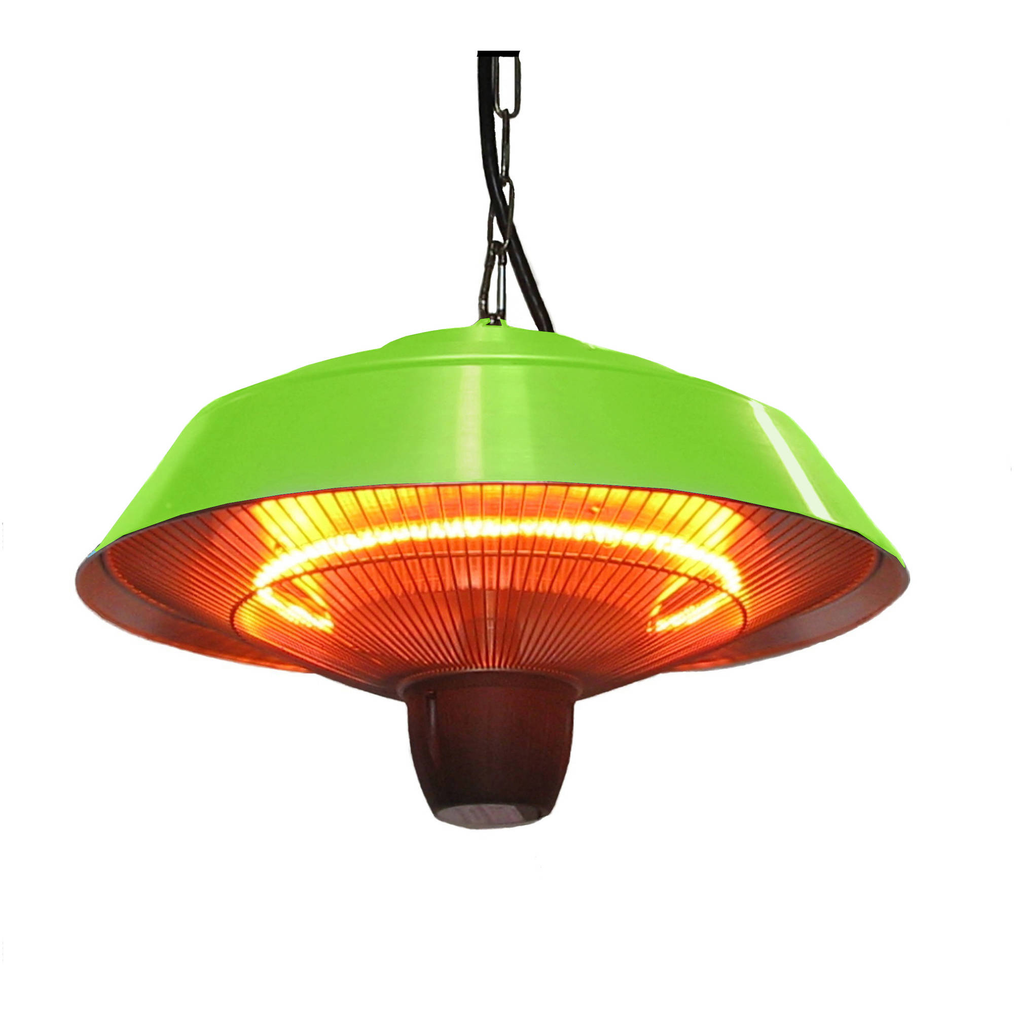 EnerG+ HEA-21523-G Hanging Infrared Electric Heater, 1500W, Green