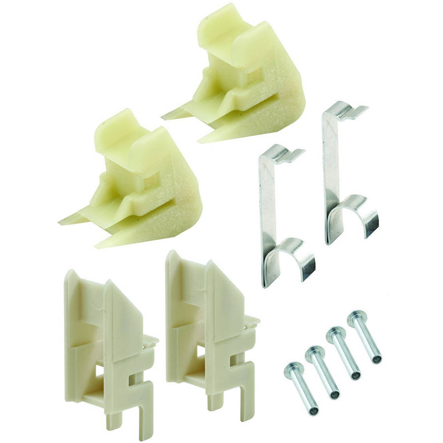 Prime-Line MP100150 Channel Balance Accessories, Nylon & Steel Components, FS100-Top & FS150-Btm, 10pk