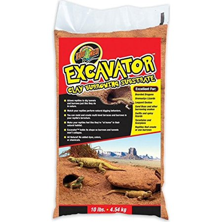 Zoo Med Excavator Clay Burrowing Substrate, 10 Lb