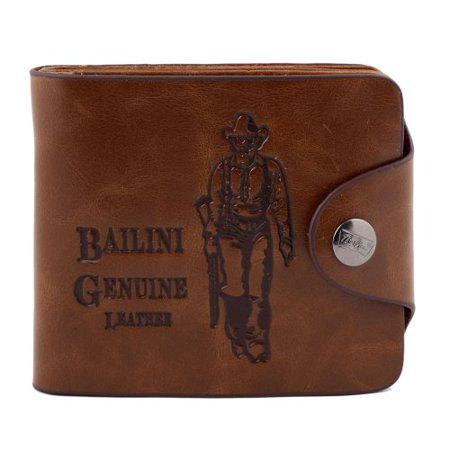- Catalina Men`s Genuine Leather Bifold Wallet Credit Id Card Purse