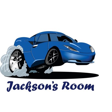 Personalized Name Vinyl Decal Sticker Custom Initial Wall Art Personalization Decor Car Boys Bedroom 16 Inches X 20 Inches