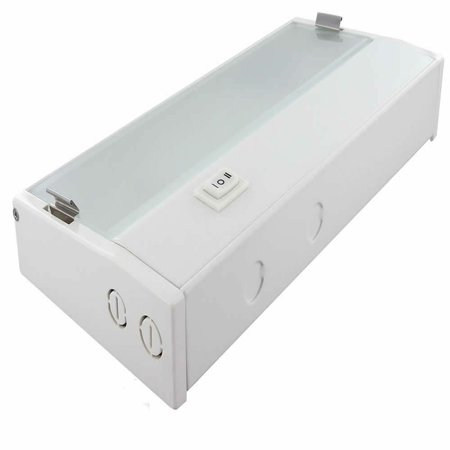 Xenon Low Voltage Under Cabinet Task Light - Nora Lighting 32 Inch White (Line Voltage Xenon Under Cabinet)
