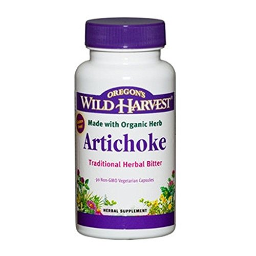 Oregon's Wild Harvest Artichoke Organic Supplement, 90 Count, 90 Fluid Ounce
