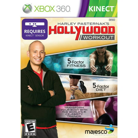 Harley Pasternak's Hollywood Workout (Kinect) - Xbox (Best Xbox 360 Workout Games)