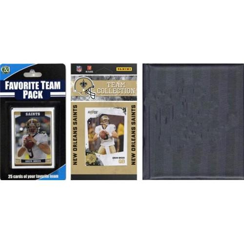 C & I Collectables 2010SAINTSTSC NFL New Orleans Saints Licensed 2010 Score Team Set and Favorite Player Trading Card