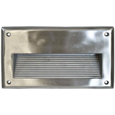 Dabmar Lighting DSL1043-SS304 13 watt PLQ13 120V Recessed Lens Step Light, 304 Stainless Steel (Steel Lensed Step Light)