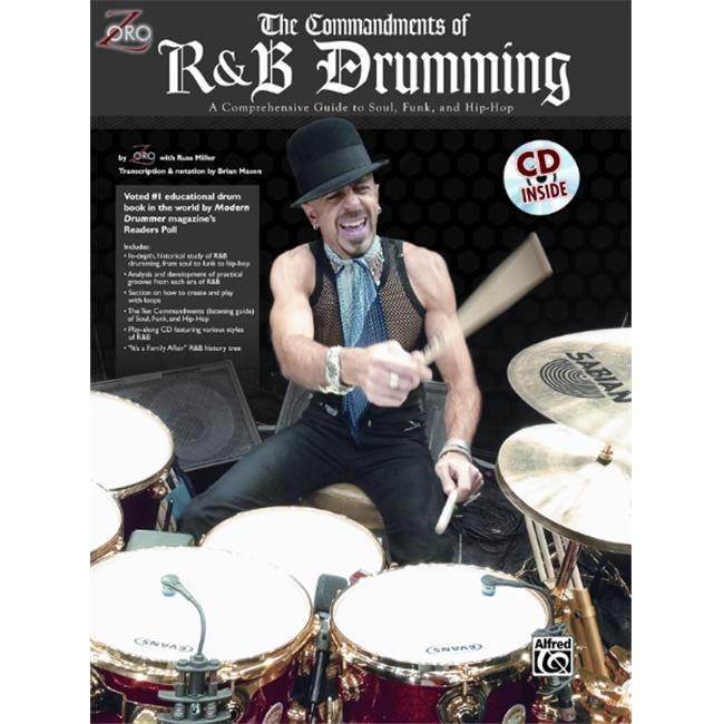 Alfred 00-0110B The Commandments of R&B Drumming - Music Book