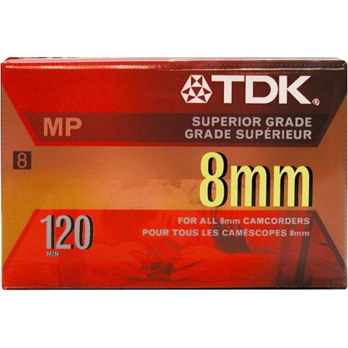 New TDK P6120MP 8mm MP Premium Video Tape by TDK