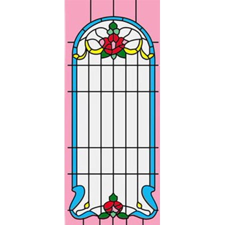 Dollhouse Sim. Stained Glass Fits Cla75042/Hw5042 (22506 Simulated Stained Glass)