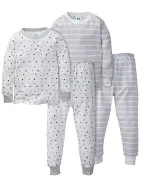 f856ab38ba49c Product Image Gerber Organic cotton mix n match pajamas, 4pc set (baby boys  & toddler boys