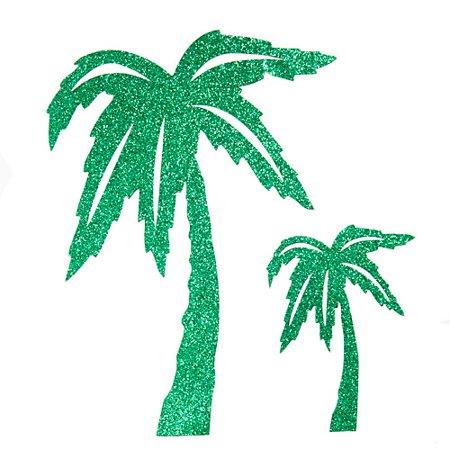 Glittered Palm Tree Cutouts](Tree Cutouts)