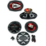 "Best 6x9 Car Speakers For Basses - BOSS Chaos CH6940 6x9"" 500W 4-Way + CH6530 Review"