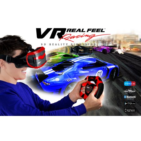 Real Feel VR Headset - Racing