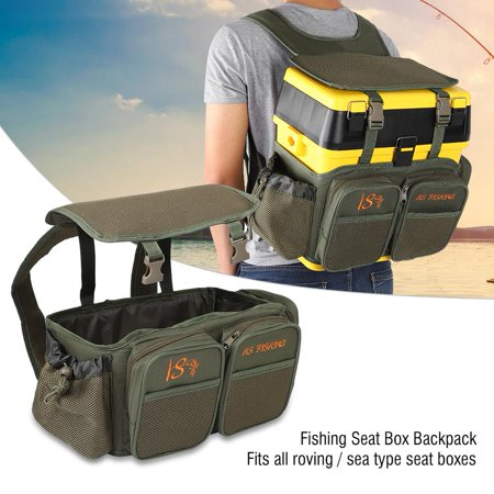 Hilitand Fishing Seat Box Backpack Converter Roving Fishing Stalking Carrier