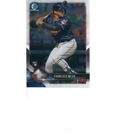 2018 Bowman Chrome #33 Francisco Mejia Cleveland Indians Rookie Baseball (2000 Bowman Chrome Card)