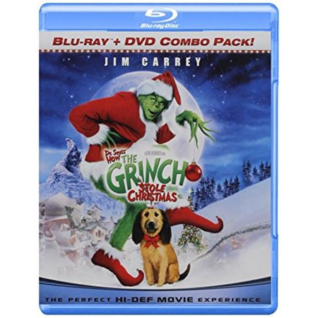 How The Grinch Stole Christmas Blu Ray.Universal Pictures Home Entertainment Dr Seuss How The Grinch Stole Christmas Blu Ray