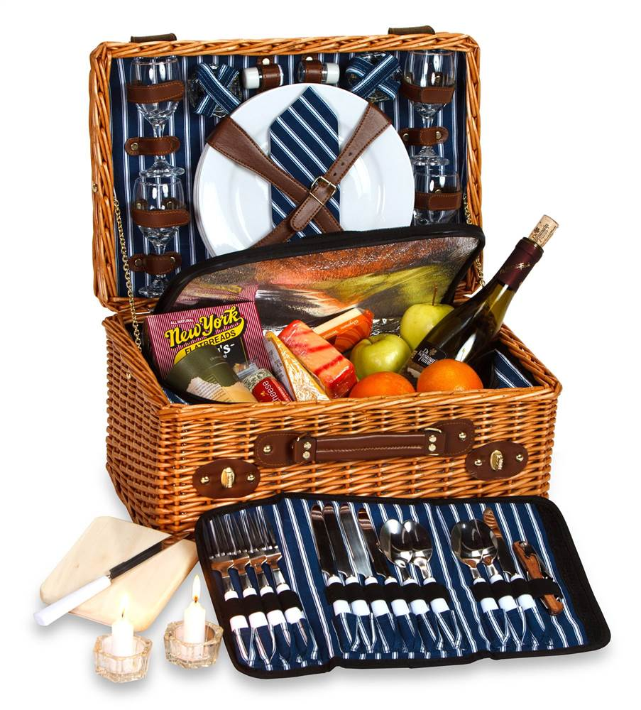 Wynberrie 4 Person Picnic Basket