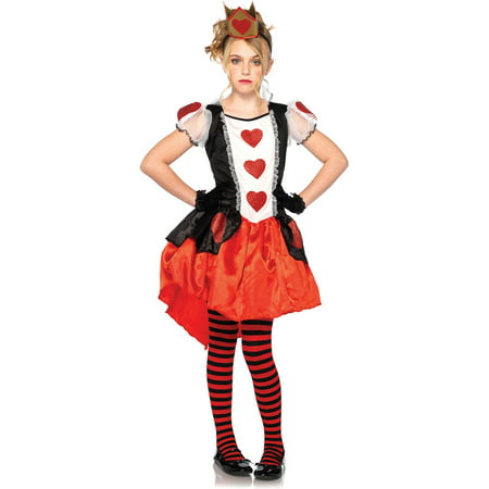 Wonderland Queen Child Halloween Costume - Alice And Wonderland Costumes Kids