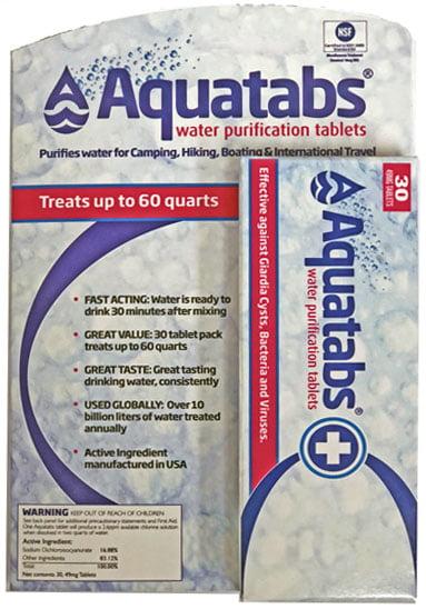 Aquatabs-30 Tablets Per Pack by AQUATABS