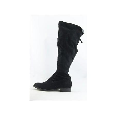 03d7221716ce Unisa - Unisa Womens Subrina Fabric Almond Toe Knee High Fashion Boots -  Walmart.com