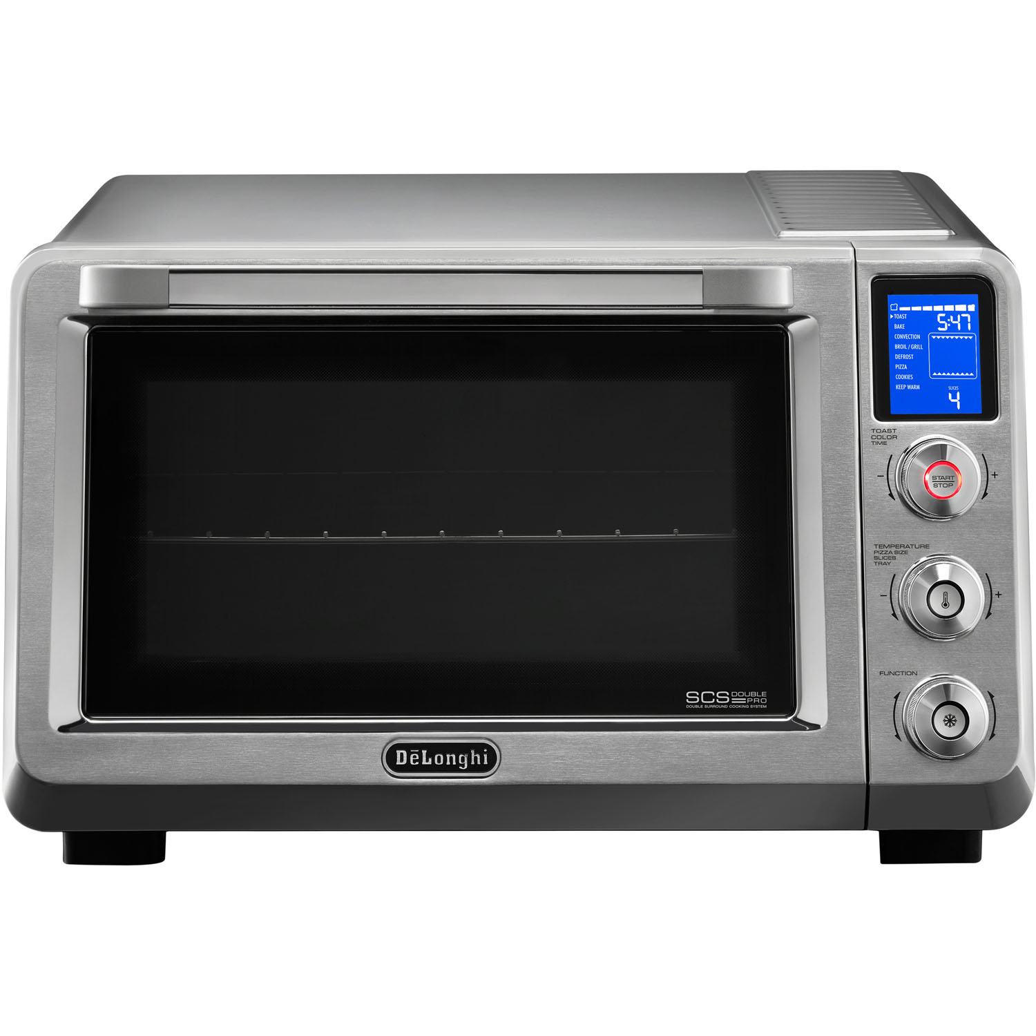DeLonghi Livenza Convection Oven with Double Surround Cooking and 1 Rack