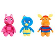Backyardigans Bean Plush 3 Pack - Pablo, Uniqua, Tyrone