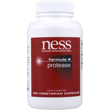 Ness Enzymes, Protease n ° 4 180 vegcaps