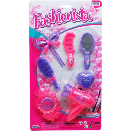DDI 2339500 Assorted Color Fashionista Beauty Play Set, 7 Piece - Case of 48 - image 1 of 1