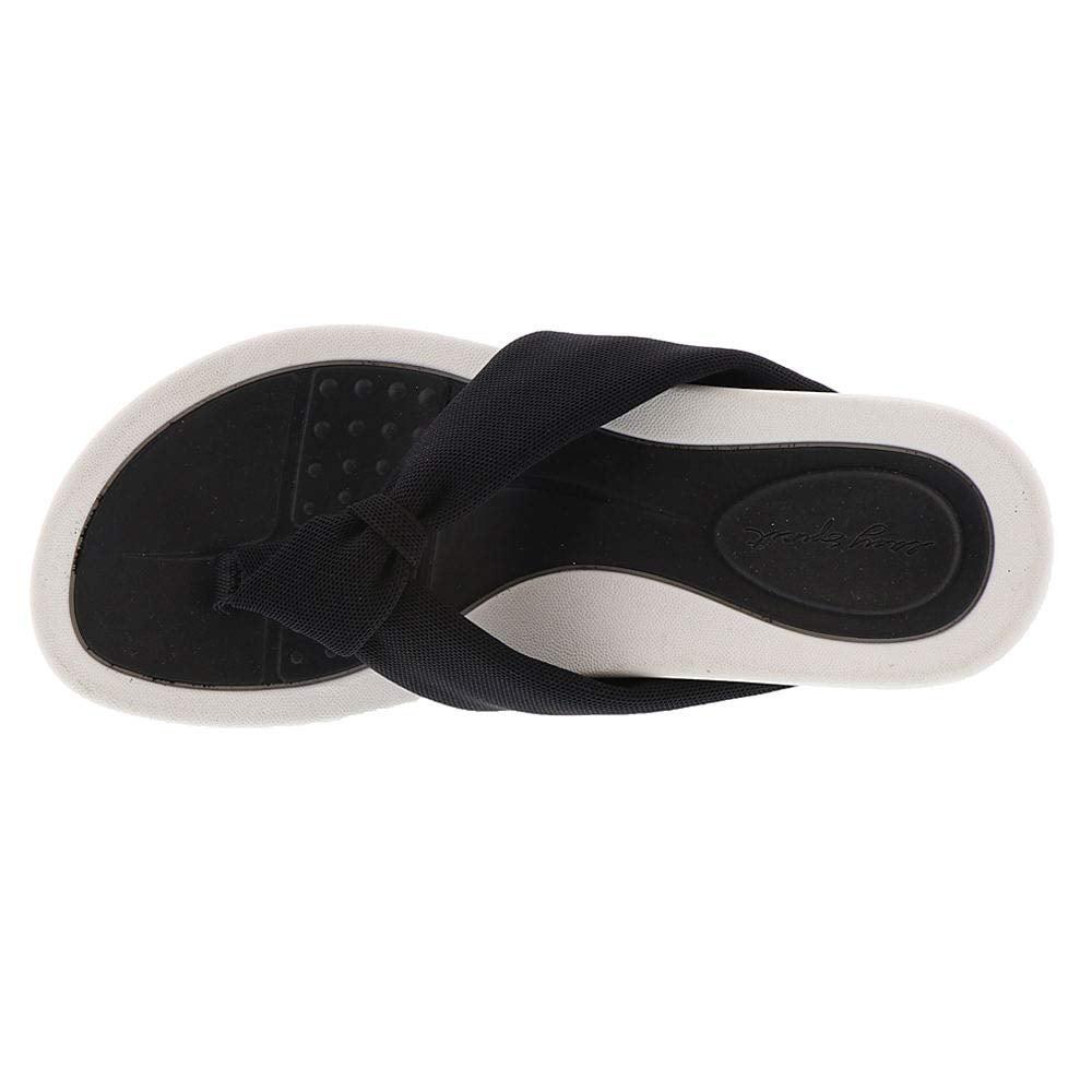 Easy Spirit Womens Beachey 2 Open Toe Casual Slide Sandals