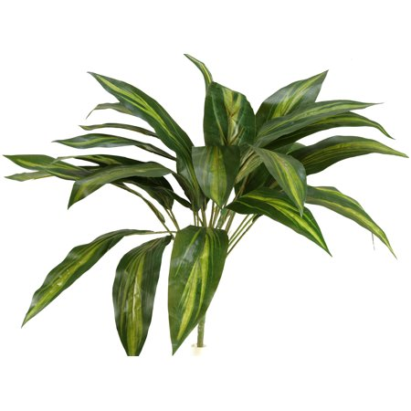 D&W Silks - Dracaena Plant X 25 Leaves - Set of 3