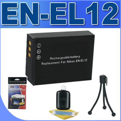 ENEL12 Replacement Battery BigVALUEInc Saver Accessory Bu...