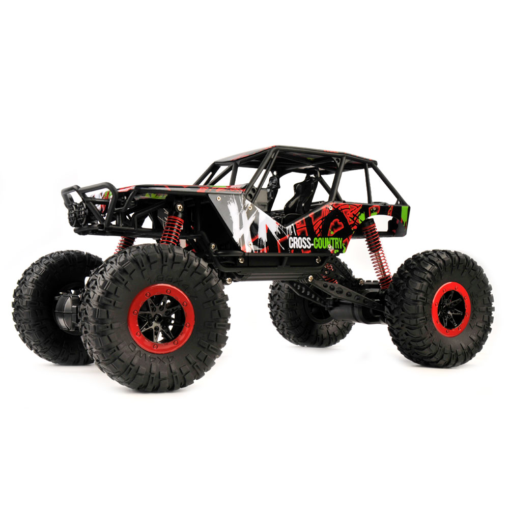 2.4Ghz 1 10 Scale RC Rock Crawler 4x4 Waterproof RC Truck with LED Light Max Crawling... by ETop