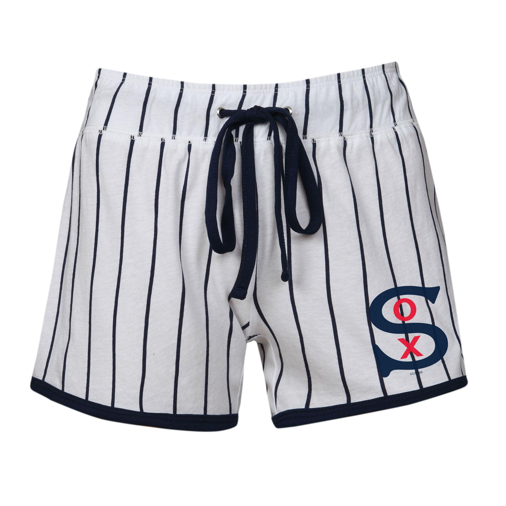 Chicago White Sox Concepts Sport Women's Vigor Sleep Shorts - White/Navy