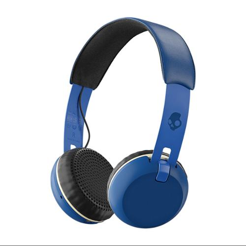Skullcandy Grind Wireless Royal/Cream/Blue Bluetooth On-ear Headphones (S5GBW-J546)