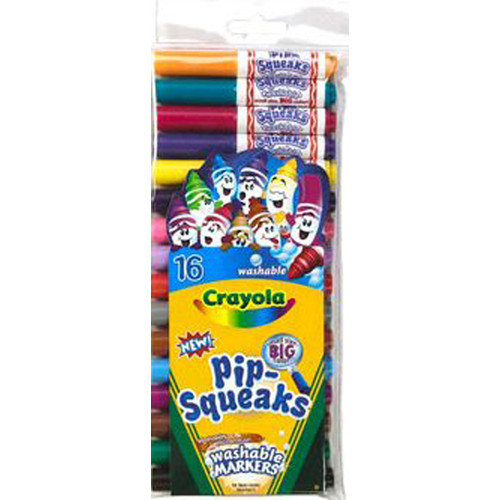 Crayola LLC Pip-squeaks Markers 16 Ct Short (Set of 2)