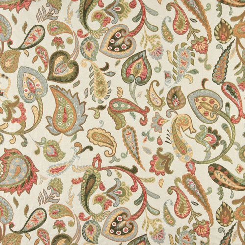 Wildon Home Floral Paisley Fabric