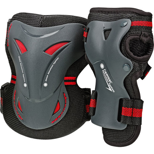 Tarmac Knee and Wrist Guards Combo Pack, Adult