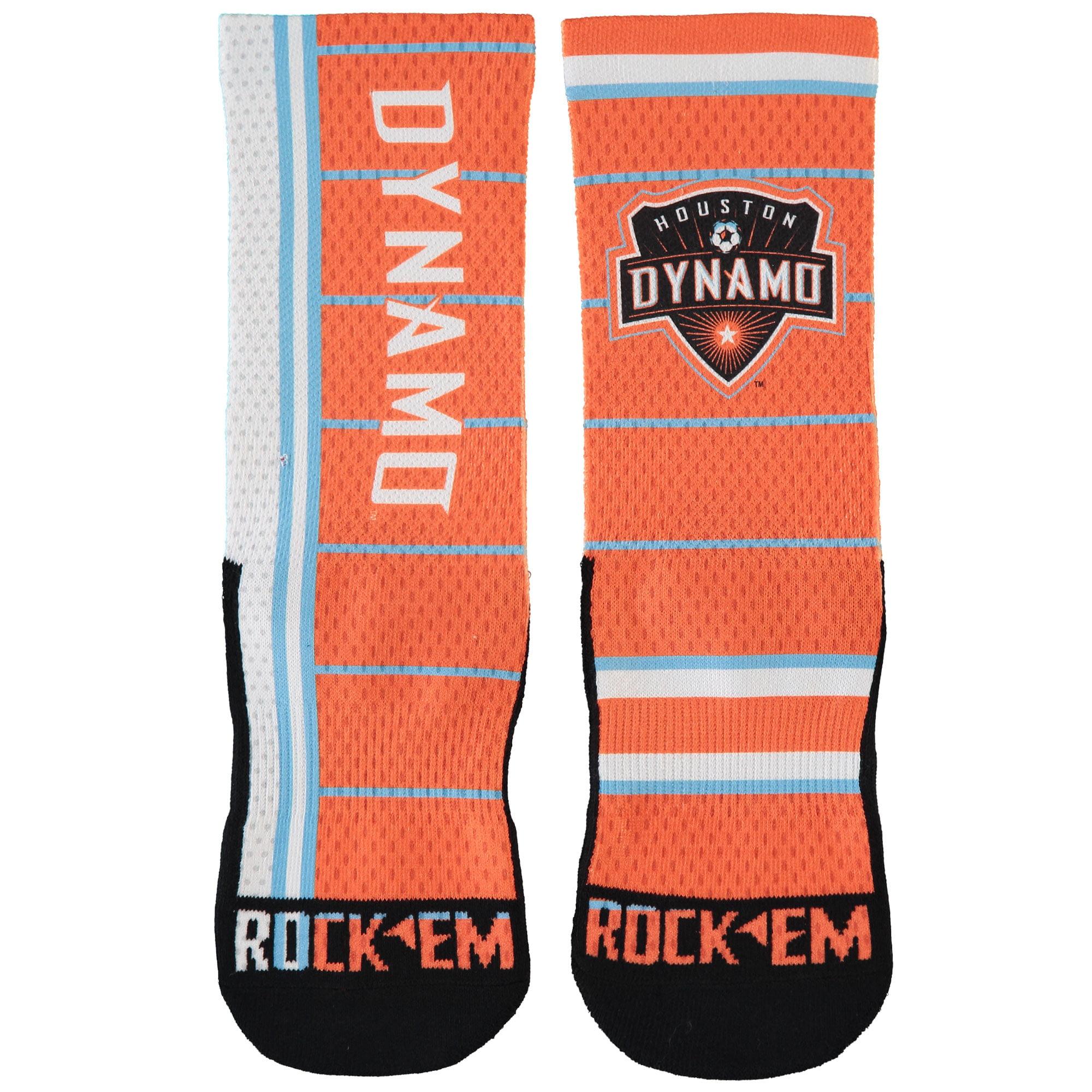 Houston Dynamo 2017 Jersey Match Up Shin Socks