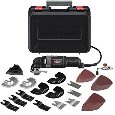 Porter Cable pce605k52 3-amp oscillating multi-tool kit w...