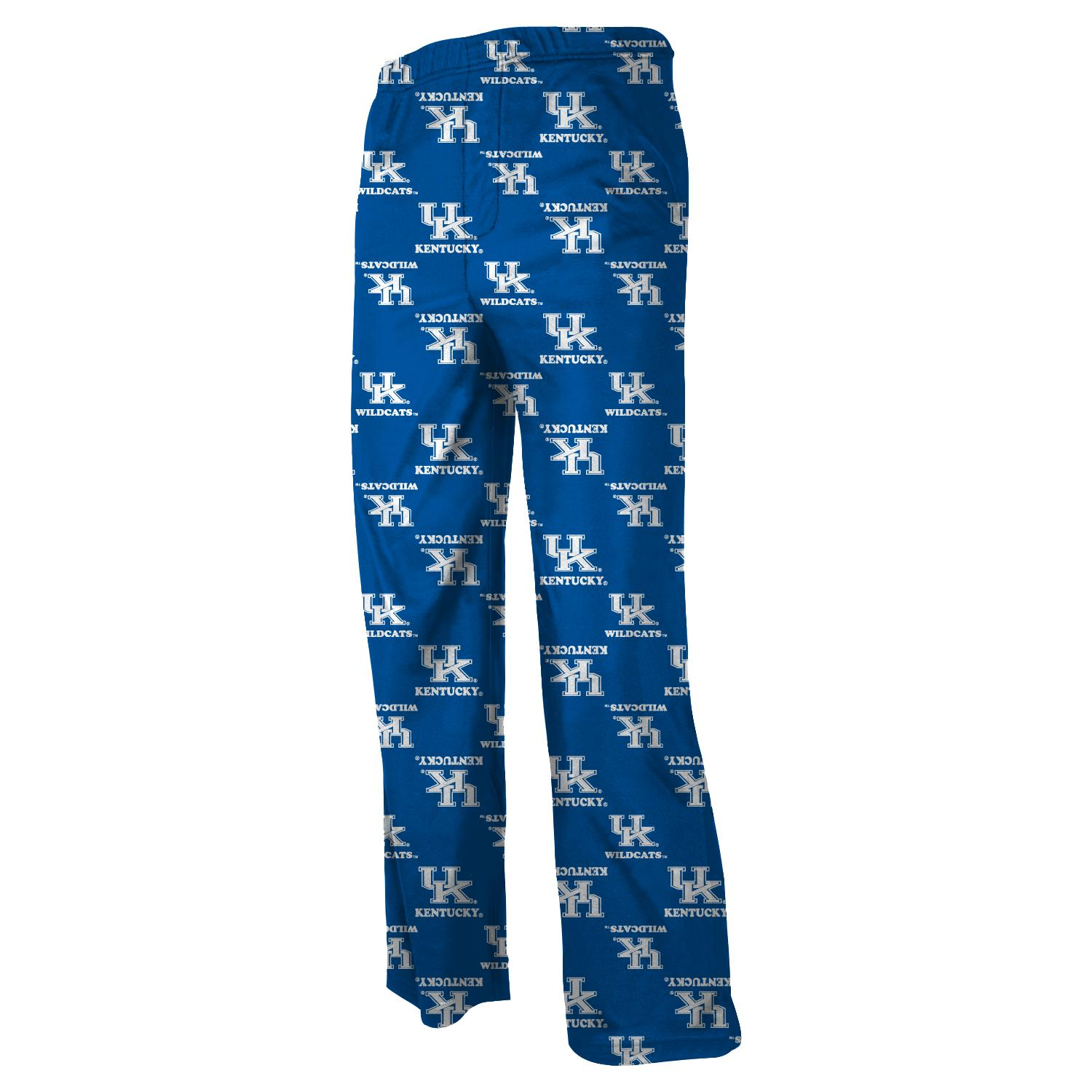 Kentucky Wildcats Youth NCAA Printed Logo Pajama Pants by Outerstuff